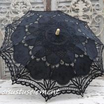 Must päiksevari, D80cm