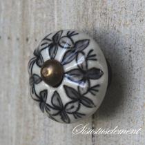 Kapinupp must lill,sooneline, D3,3cm