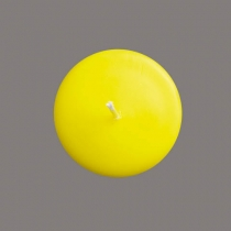 Lauaküünal kollane, silinder