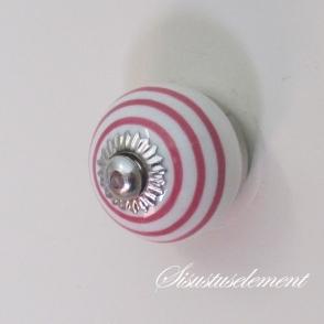 Kapinupp roosad ringid, D3cm