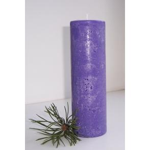 Küünal RUSTIC lavendel, h 21cm