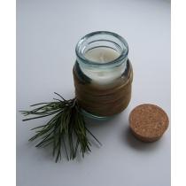 Sojavahast küünal klaaspurgis, 200ml