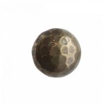 Kapinupp metallist, pruun, D4cm