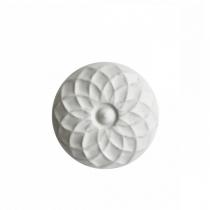 Kapinupp Valge lill D5cm
