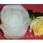 Küünal Roos, väike valge 8cm